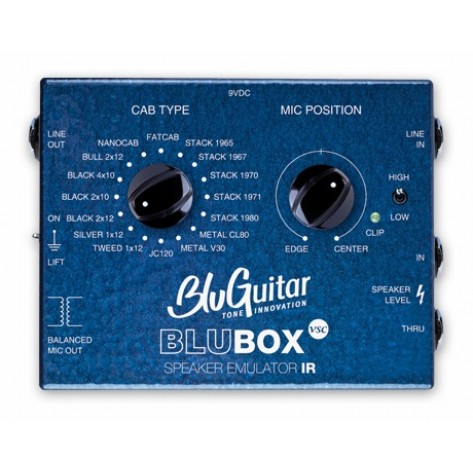 BLUGUITAR BLUBOX / Impulse Response Speaker Emulator