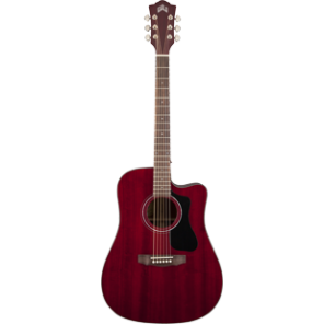 GUILD D-125 CE / Cherry  Red