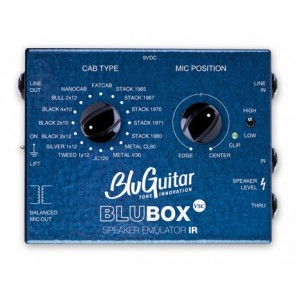 BLUGUITAR BLUBOX / Impulse Response Speaker Emulator