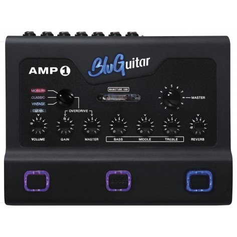 BLUGUITAR AMP1 Iridium Edition / 4 channel 100w Nano-Tube Guitar Amplifier