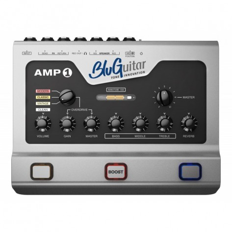 BLUGUITAR AMP1 / 4 channel 100w Nano-Tube Guitar Amplifier