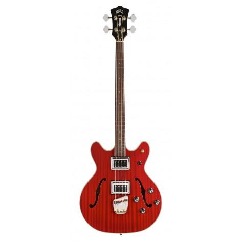 GUILD Starfire Bass II / Cherry Red